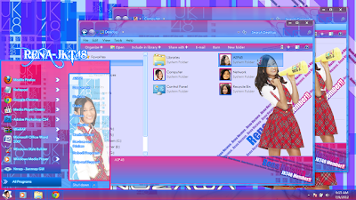 Windows+7+Themes+Rena Download Themes JKT48 Windows 7