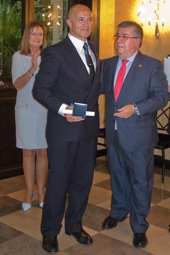 José Luis de la Cruz, medalla individual de FASFIL
