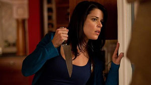 Neve Campbell en Scream 4