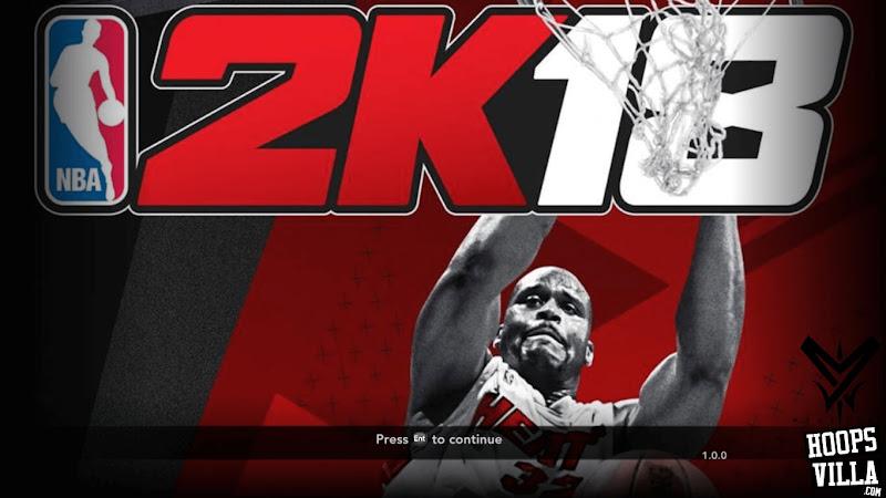 NBA 2k18 Legend Edition Title Screen Mod for NBA 2k14
