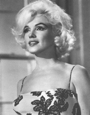 style icon Marilyn Monroe