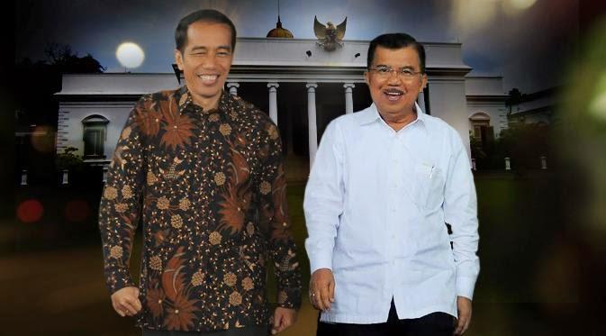 Presiden Indonesia 2014 Jokowi JK
