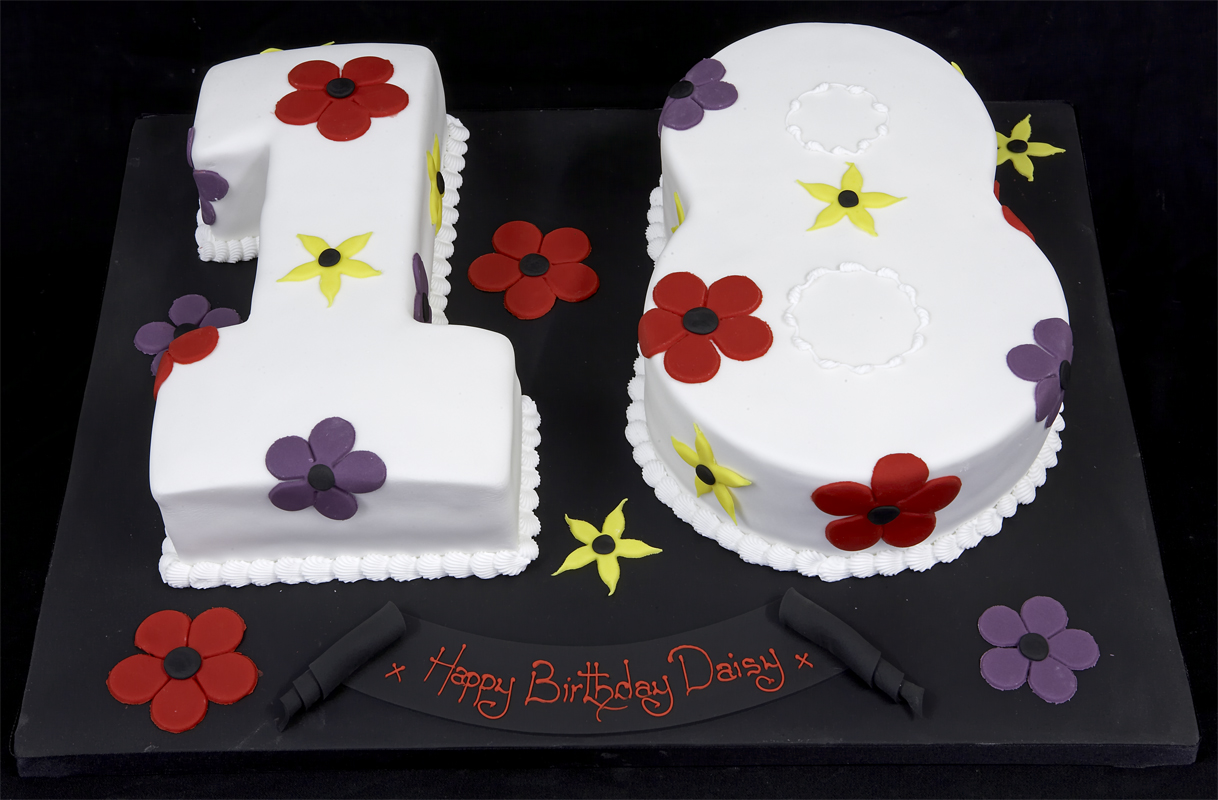 18 birthday cakes images
