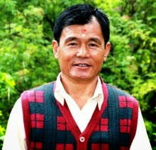 GNLF leader Arjun Rai