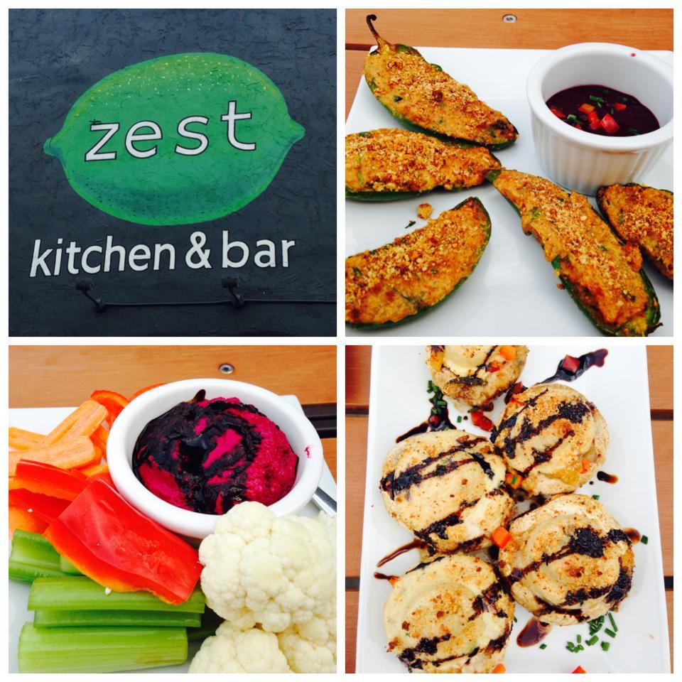 vegans have superpowers: zest kitchen & bar