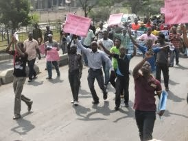 At Fuel Subsidy Protest