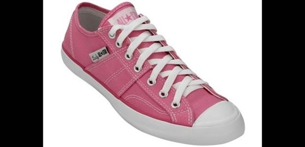 Na cor rosa, o modelo de All Star é chamado Lady Canvas (Foto: Reprodução)