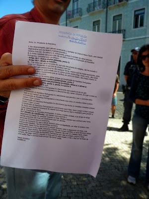 Carta de Nelson Arraiolos ao Presidente da Rapública, Direito à Resistência, Artigo 21.º da Constituição da República Portuguesa