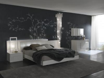Deco Chambre Papier Peint Capitonné - Décoration de chambre 50 idées de couleur murale et tissus