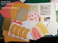 Stampin'UP!'s October 2015 Paper Pumpkin Kit