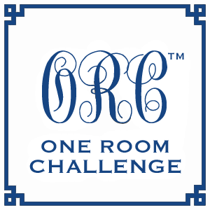 Click here to read about the One Room Challenge (October 3, 2013- November 6, 2013)
