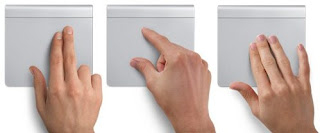 how to use magic trackpad