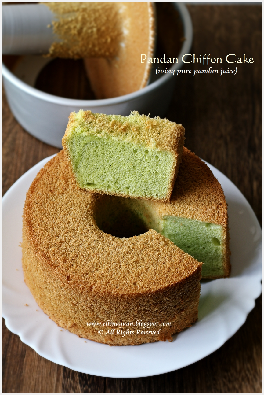 ... Singapore Food Blog | Recipes, Reviews And Travel: Pandan Chiffon Cake