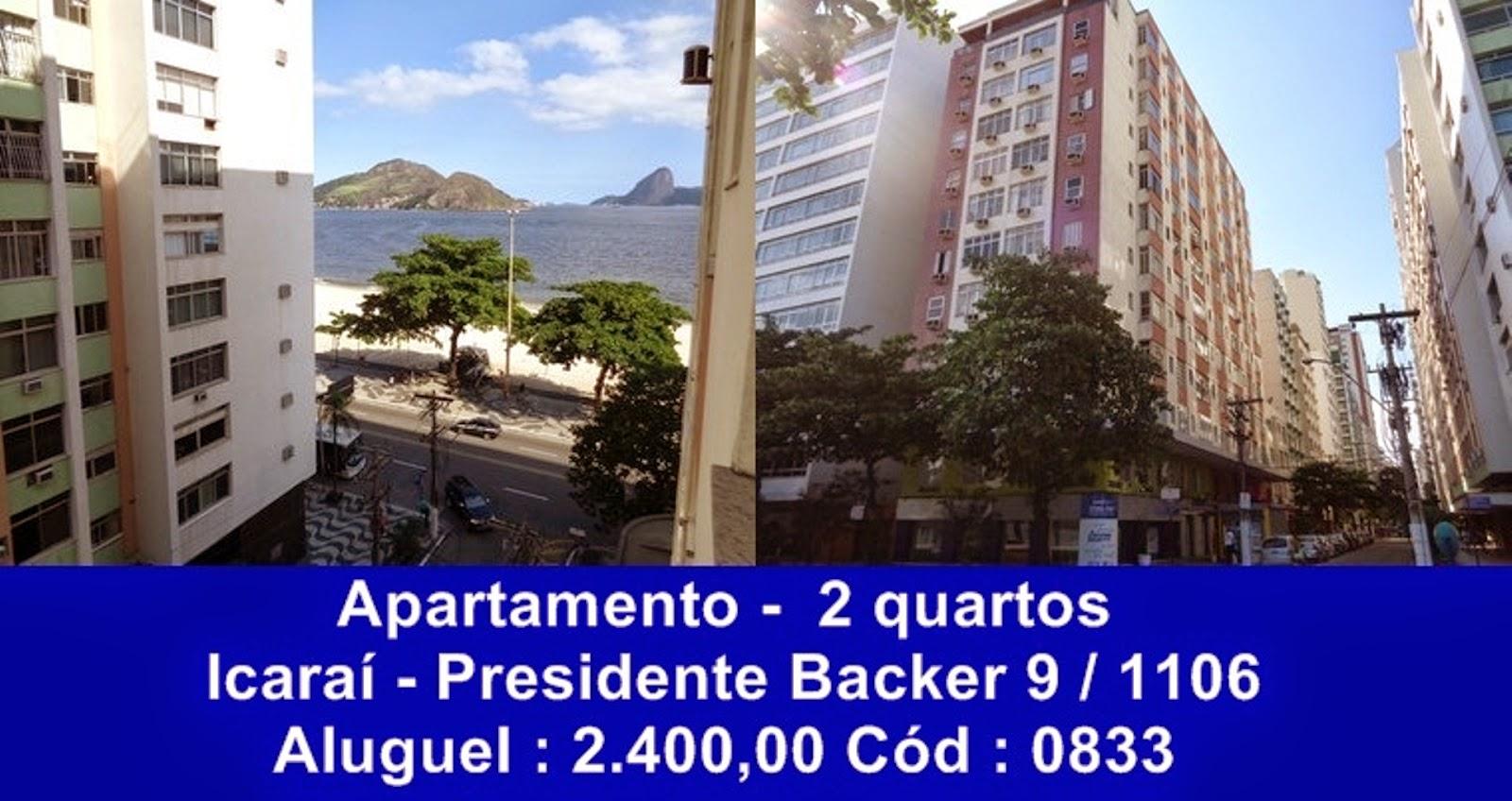 Aluguel Quarto E Sala Icarai Niteroi ~ Apartamentos, casas e coberturas de 2 quartos, para alugar, em