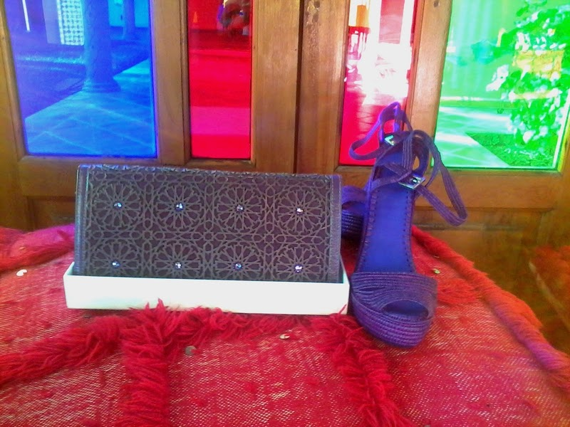 Lalla Alia shoe & handbag