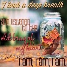 I am, I am, I am.