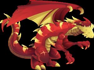 imagen del dragon juggernaut adulto