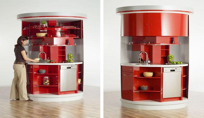 Marzua una cocina inteligente y bien aprovechada - Muebles para casas pequenas ...