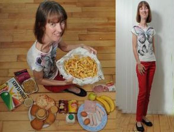 Wanita Terkurus di Dunia Namun Harus Makan Setiap 15 Menit Buat Hidup