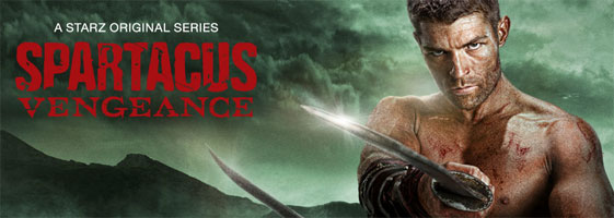 Spartacus+Vengeance Download   Spartacus Vengeance 2ª Temporada RMVB Legendado