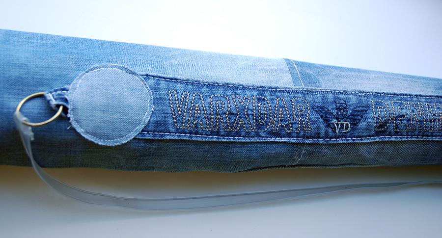 Органайзер для канцелярии (плетение из бумажной лозы, газет)