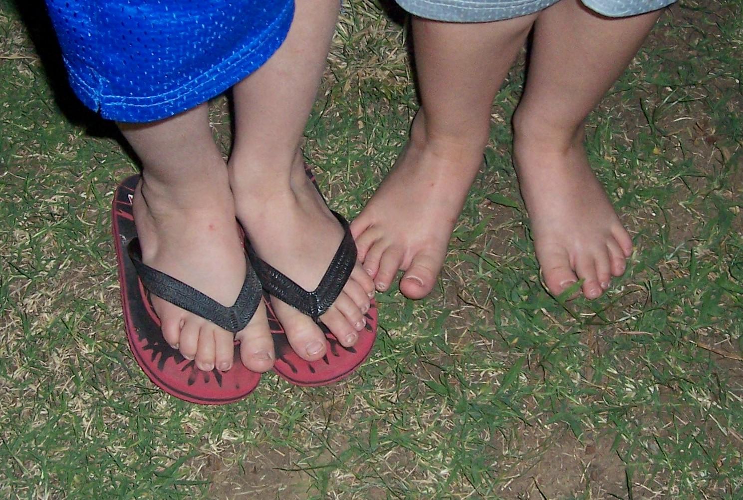 A little feet a lot f cum 10