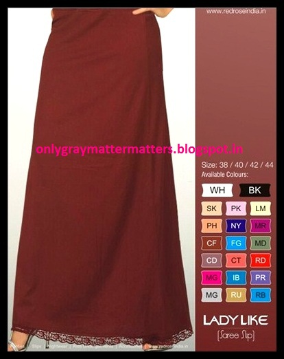 buy petticoat, saree slips, pettskirts in India privyshop.com