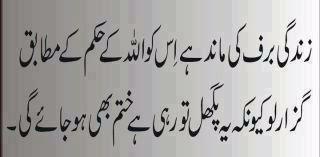 Islamic Wallpapers Aqwal E Zareen Beautiful Quotes In Urdu Wallpaper