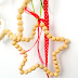 | DIY Wood Bead Christmas Ornaments