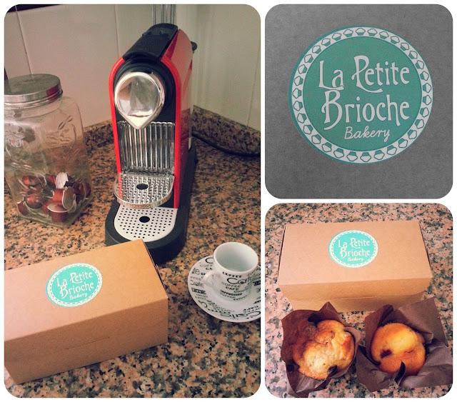 La Petite Brioche, para tomar en casa, take away, muffins, delicioso