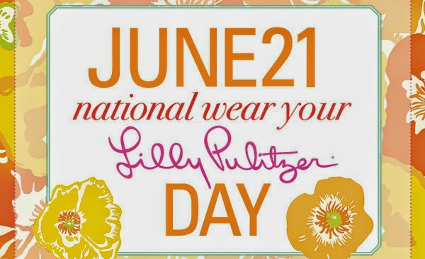 The Monogram Movement: National Wear Your Lilly Day!
