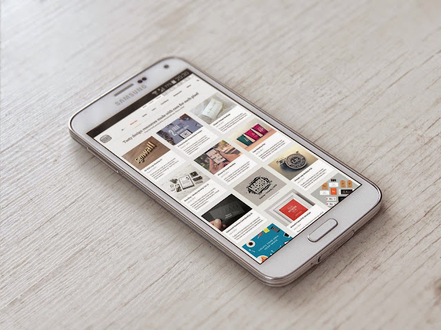 Free Samsung Galaxy S5 MockUp PSD