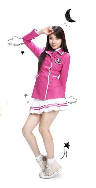 "BAE SUZY SCHOOL UNIFORM ""Style up Dance"""