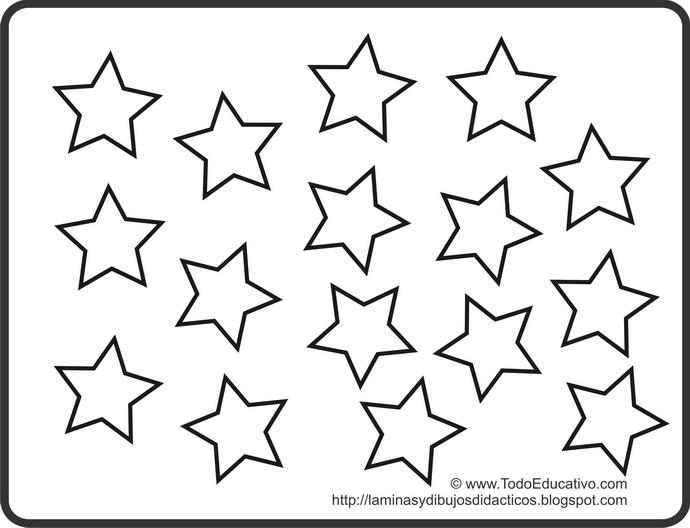Moldes De Estrellas Gratis Para Imprimir ...