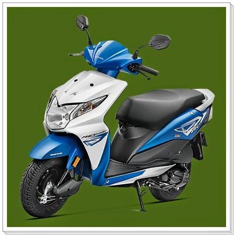 Honda Dio Blue Color