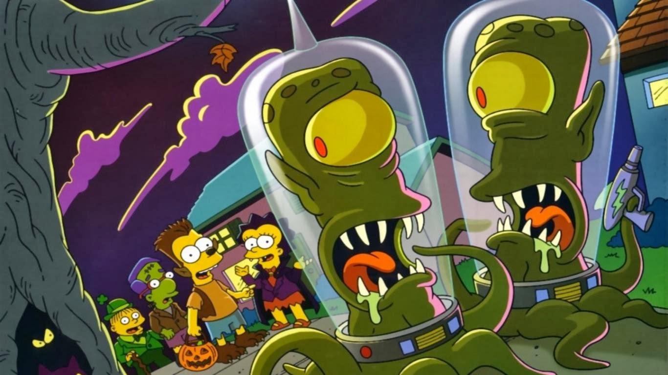 T i e r r a F r e a k: Los Simpsons Halloween Special - La ...