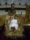 Niño de la Virgen del Consuelo nacido en la Navidad de Alcolea