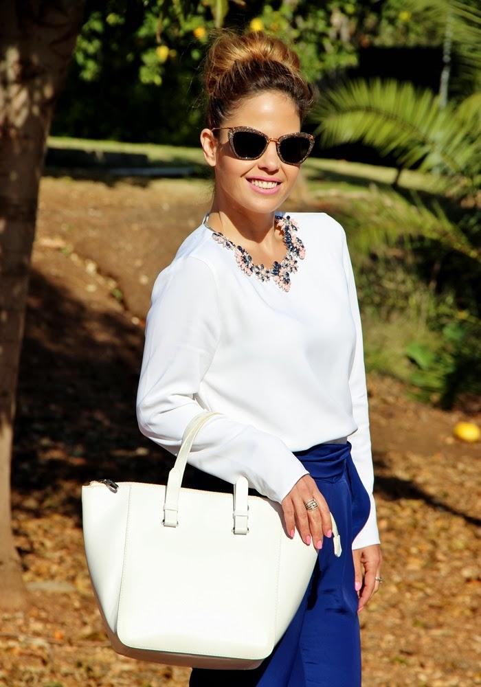 בלוג אופנה Vered'Style כחול לבן ורוד
