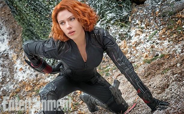 Scarlet Johansson como la Viuda Negra en Los Vengadores: La era de Ultron