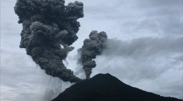Gunung Sinabung Kembali Meletus