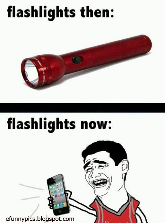 Flashlight Difference