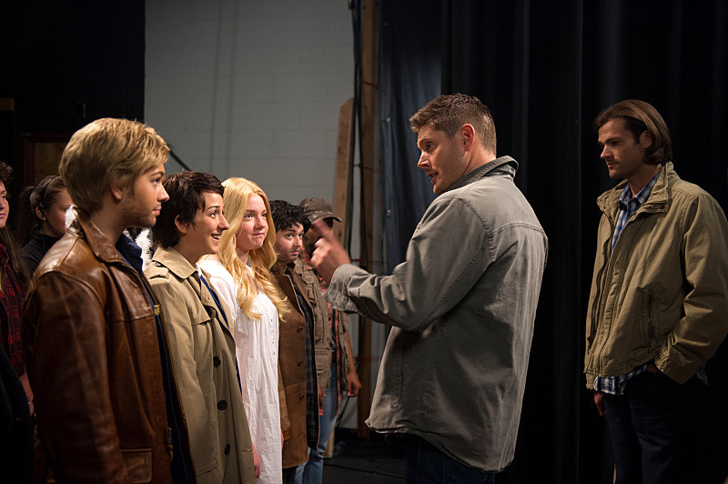 Recap/review of Supernatural 10x05 'Fan Fiction' by freshfromthe.com