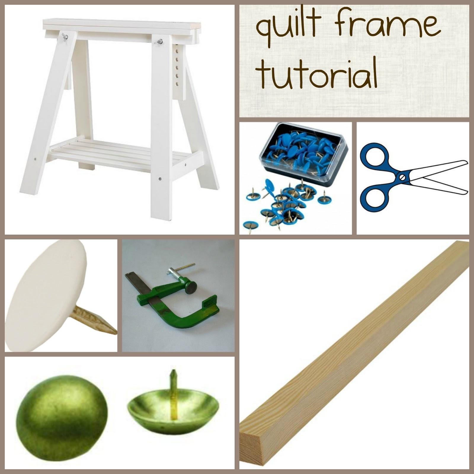Diy Wood Quilting Frame PDF Woodworking