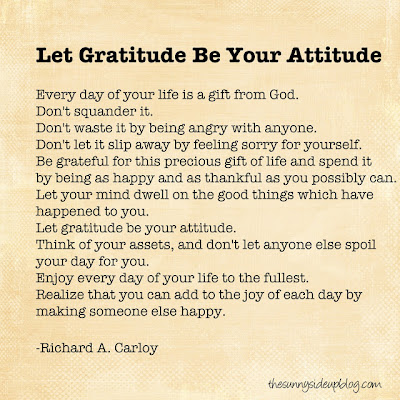 make gratitude your attitude essay How to change your attitude remember, you're still learning to change your attitude consider gratitude as, hey, it could be worse 2 send thank you cards.