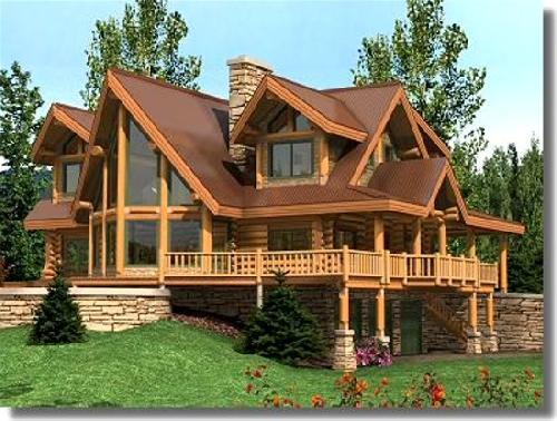 Casas fachadas fachadas de casas for Planos de chalets