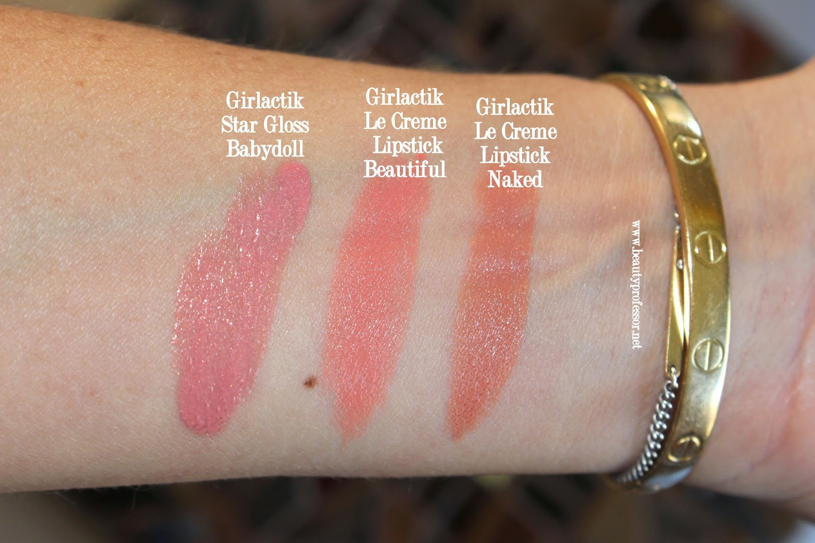 Girlactik Beautiful Naked Babydoll swatches