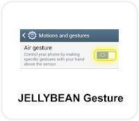 Jellybean Gestures