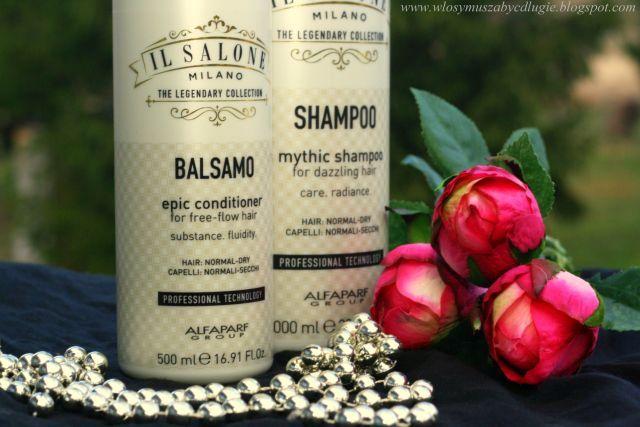 Alfaparf Il Salone Milano – Profesjonalny zestaw do włosów suchych i normalnych (Szampon i odżywka)