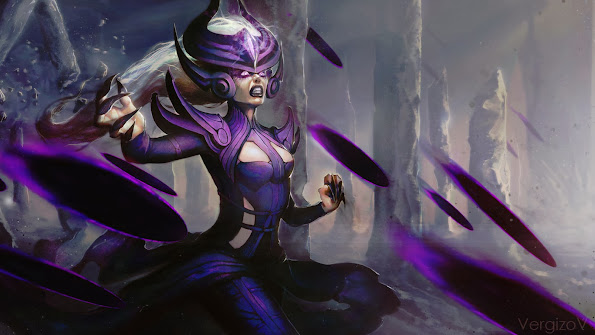 LoL Syndra Art Picture 3b Wallpaper HD