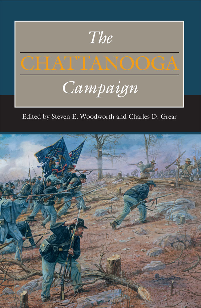 The Chattanooga Campaign book cover